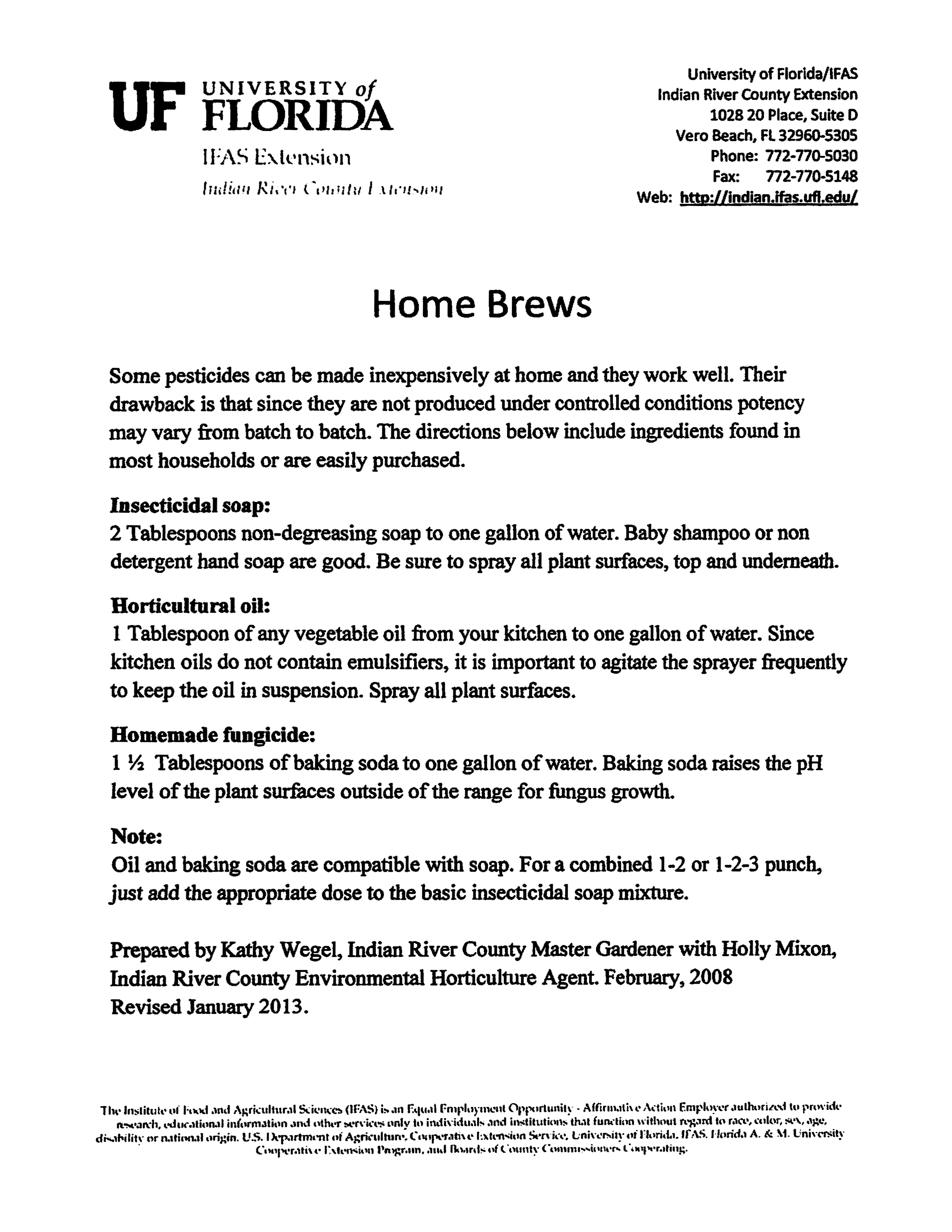 or not growing in the treasure coast treasure coast rare fruit club homebrews for pests pdf